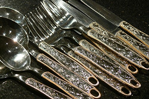Western Buckle Flatware Dinner Set (12 piece set) ()