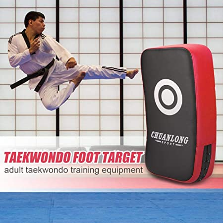 Curved Foot Target Training Sport Fitness Boxing Equipment Fight Punching Bag