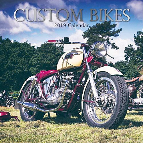 2019 Wall Calendar - Custom Bikes Calendar, 12 x 12 Inch Monthly View, 16-Month, Big Motorcycles Theme, Includes 180 Reminder - Custom Calendar Wall