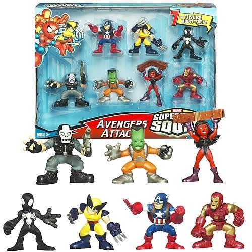 Avengers Attack Hasbro Super Hero Squad Fun Pack