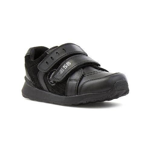 Hush Puppies - Mocasines de Piel para niño, color Negro, talla 27 EU Niño: Amazon.es: Zapatos y complementos