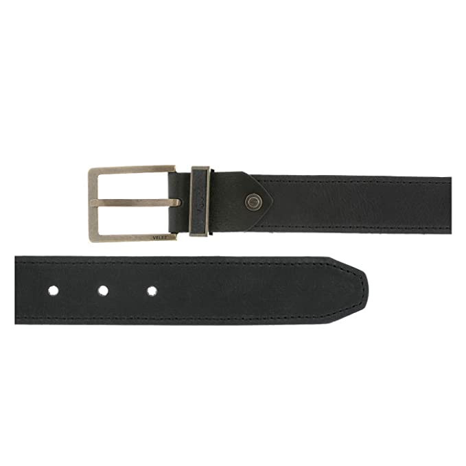 Velez Genuine Full Top Grain Men Real Leather Belt Correa Cuero de Caballero Black 40 at Amazon Mens Clothing store: