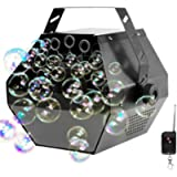 Portable Automatic Bubble Machine with Wireless Remote and Automatic Mode, softeen Automatic Bubble Blower Maker Machine…