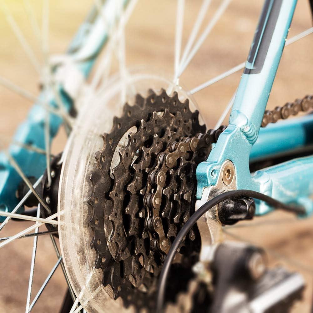 MAGT Fahrrad Freilaufst/ütze Hochwertige langlebige Fahrradschwungradst/ütze Scheibenbremse Kassettennaben Schutzabdeckung Zubeh/ör