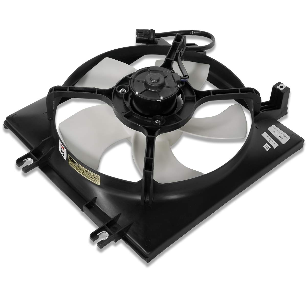 SU3115119 OE Style AC Condenser Cooling Fan Shroud Assembly for Subaru Forester Impreza 2.5L / Turbo 08-13