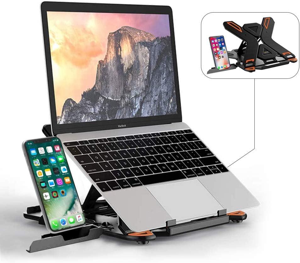 Portable Laptop Holder Base Vertical Adjustable Notebook PC Stand Support Stands