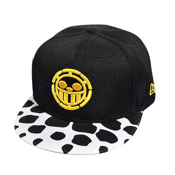 Gorros Hombres Moda para Mujer Bordado Niños Hiphop Sombrero Unisex Fácil De Igualar Ajustable Sunscreen Peaked Cap (Color : Amarillo, Size : One Size): ...