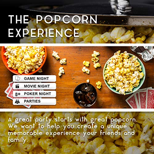 Franklin's Gourmet Popcorn Certified USDA Organic Popping Kernels - 28oz. Tub - Top Rated, Delicious Old Fashioned Unpopped Kernels, All Natural - Best Movie Theater Taste – Made in USA