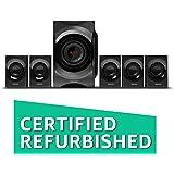 (Certified REFURBISHED) Philips SPA8000B/94 5.1 Channel Multimedia Speakers System (Black)