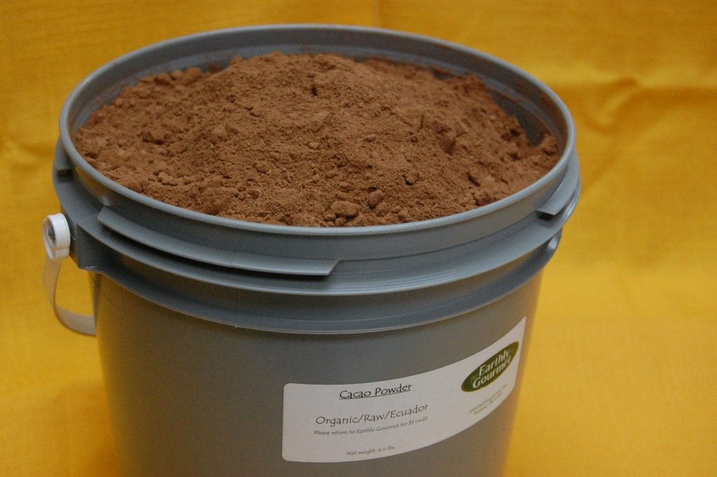 Organic Raw Cacao Powder - 4.1 Lbs