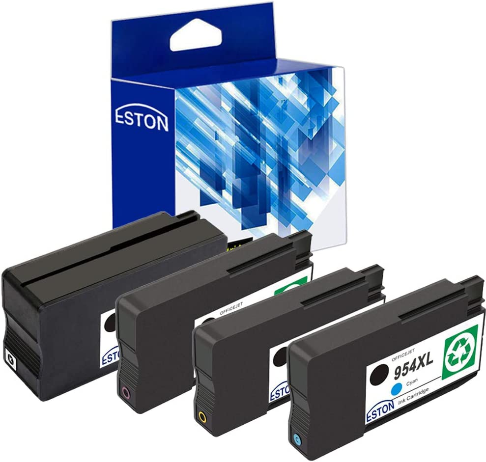 ESTON Remanufactured Ink Cartridge Replacement for HP 954XL 954 XL for HP OfficeJet Pro 8210 8710 8715 8716 7740 Printer