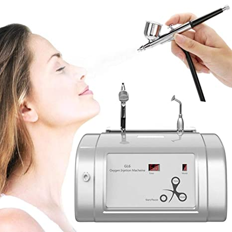 Oxygen Injection Hydrate Jet Spray Tool for Facial Skin
