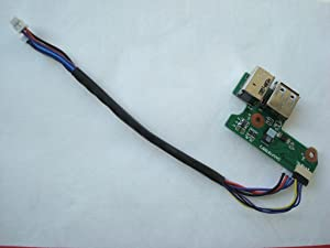 HP DV6000 DV6500 G6000 F500 65W Laptop DC In Power Board with USB DAOAT8TB8F 431445-001