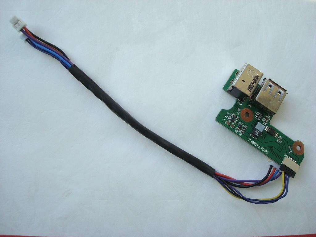 Hp Dv6000 Dv6500 G6000 F500 65w Laptop Dc In Power Board Supply Connector Dell Pinout G5 With Usb Daoat8tb8f 431445 001 Computers Accessories