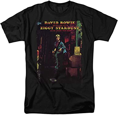 OFFICIAL LICENSED STATION TO STATION T SHIRT ROCK POP ZIGGY DAVID BOWIE