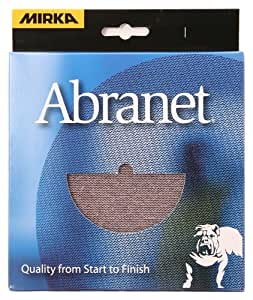 Mirka 9A-232-APRP 5-Inch Abranet Assortment Pack, 1 Each P80 - P600, Pad Protector