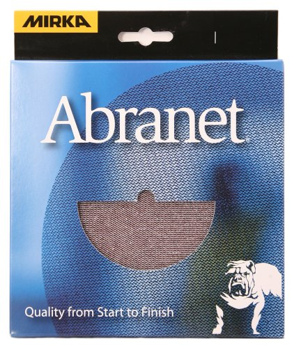 Mirka 9A-241-APRP 6-Inch Abranet Assortment Pack, 1 Each P80 - P600, Pad Protector