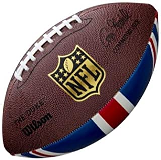 2018 Wilson NFL The Duke Union Jack Official Size Brexit Limited Edition