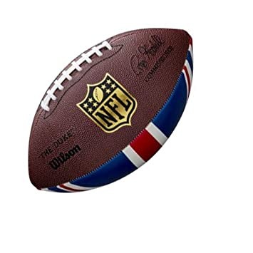 Wilson WTF1748XBLGUJ Pelota de fútbol Americano NFL Union Jack ...