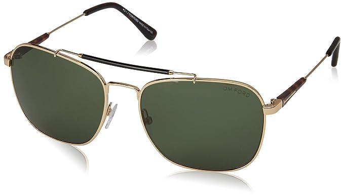 Tom Ford Sonnenbrille FT0377 5828R Gafas de Sol, Dorado ...