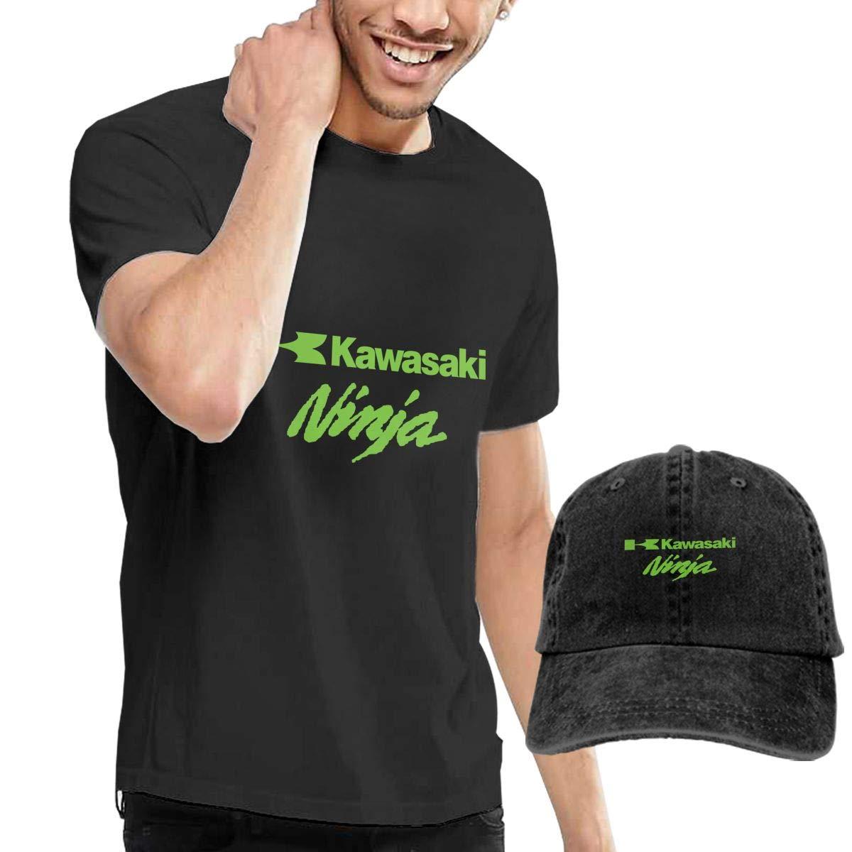 TIANXIN Personalized Vector Ninja Kawasaki Tshirts with Hats ...