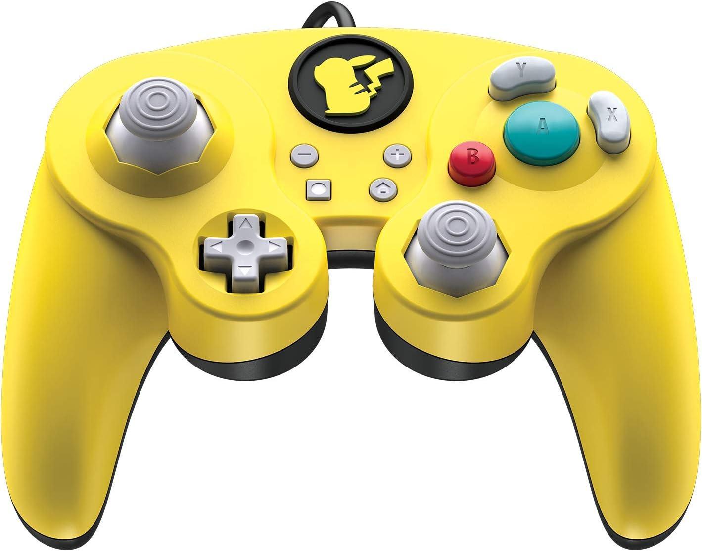Control Para Nintendo Switch Estilo Gamecube, Pikachu (xmp)