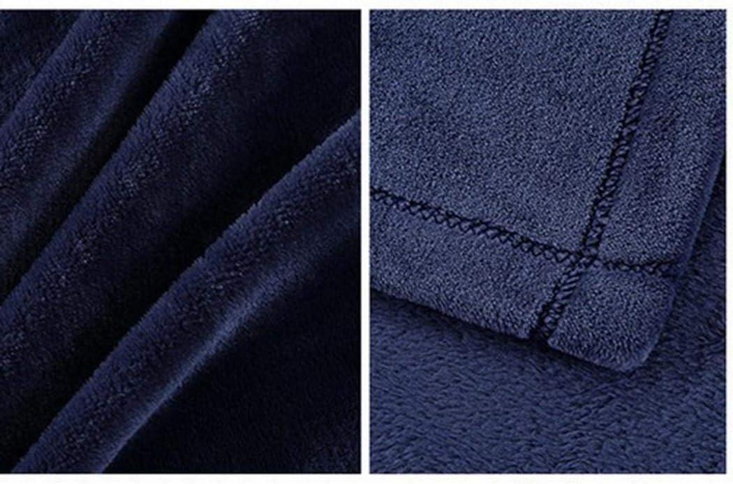 pioleUK Couverture Molle Chaude et Solide de Peluche de Couverture de Jet de Couverture de literie de Sofa Collections literie