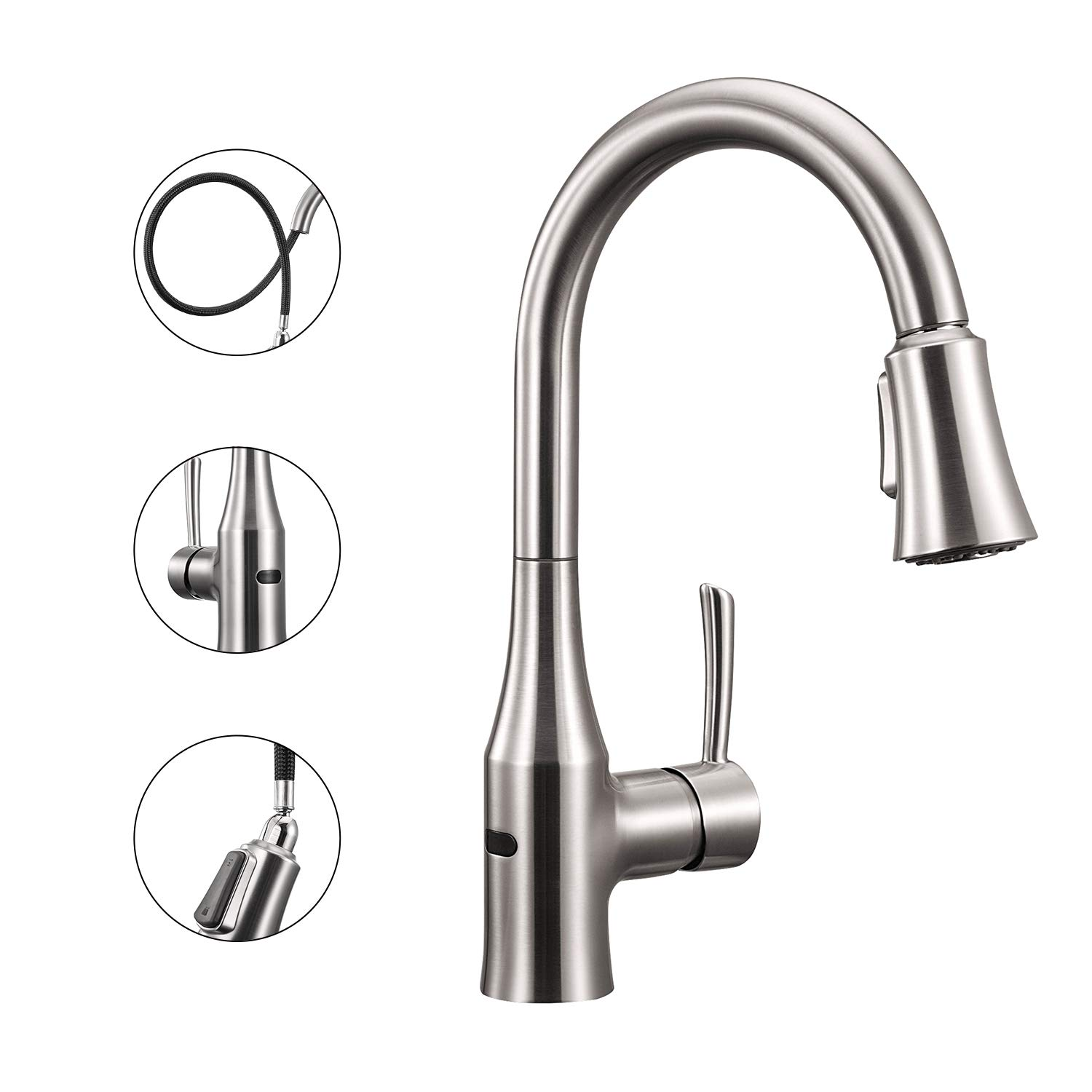 Touchless Sensor Kitchen Sink Faucet For 117 39 Shipped Reg