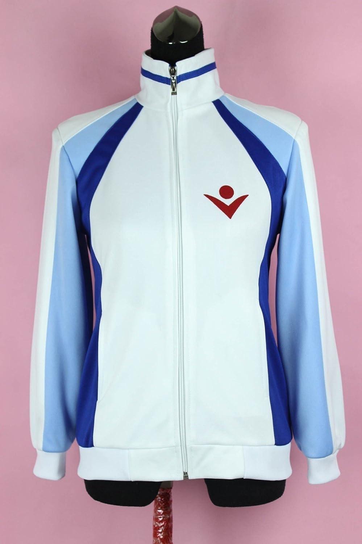 Free! - Iwatobi Swim Club Haruka Nanase High School Sportswear ,Maßgeschneiderte,Größe S: Höhe 160cm-165cm