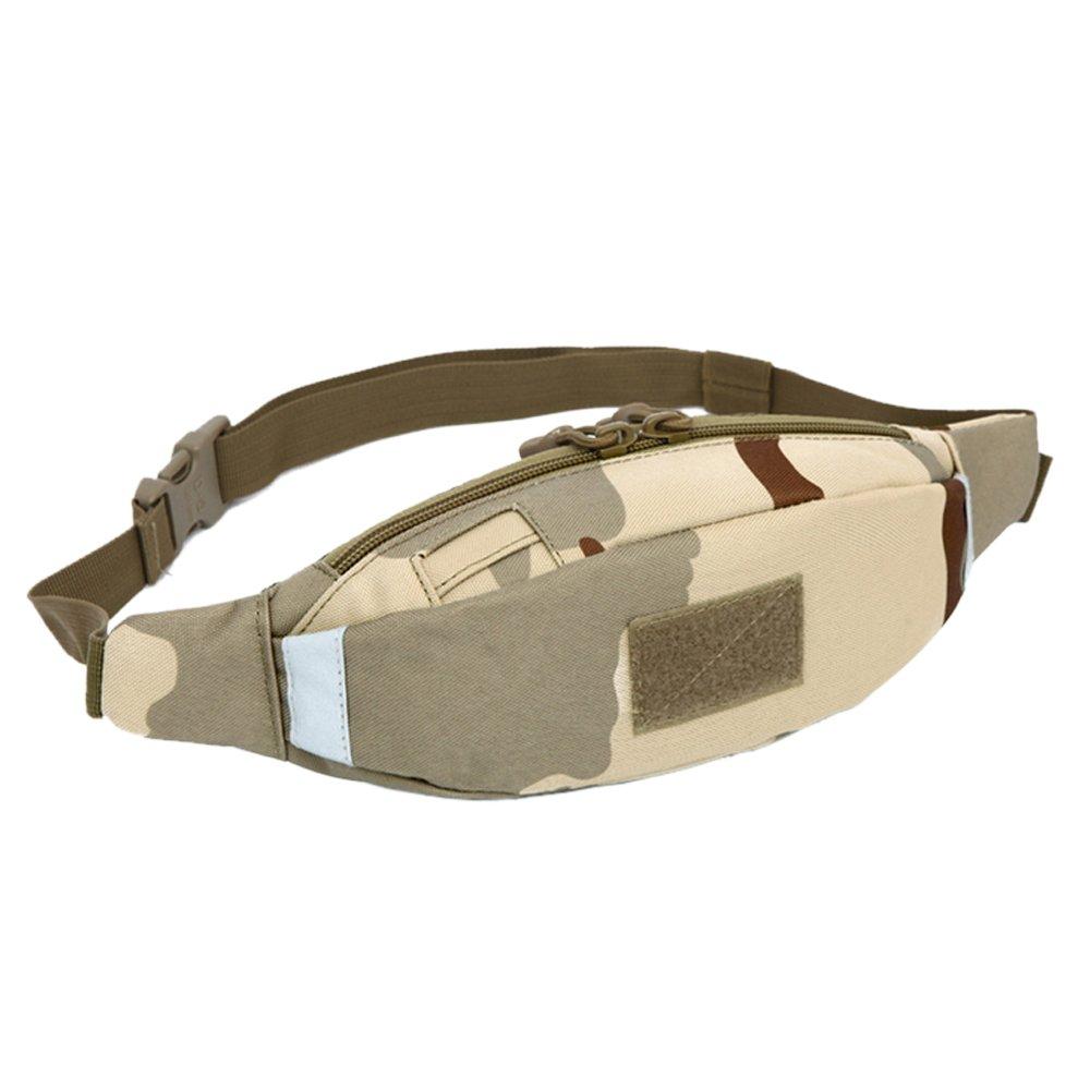Meanhoo Extreme Zipper Waist Bag Outdoor Sports Fanny Pack Waist Pack Pouch Hip Belt, Running Belt Bag Pouch Fanny Pack for Hiking Cycling Climbing Travel - camouflage