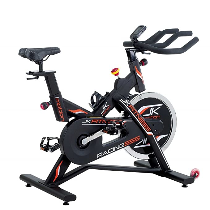 JK FITNESS - Bicicleta estática JK Fitness Indoor Bike Racing 555 ...