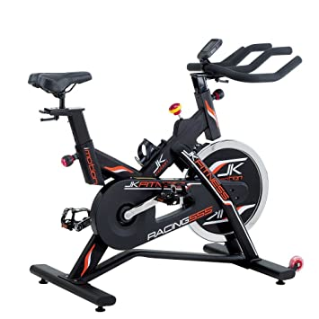 JK FITNESS - Bicicleta estática JK Fitness Indoor Bike Racing 555 ...