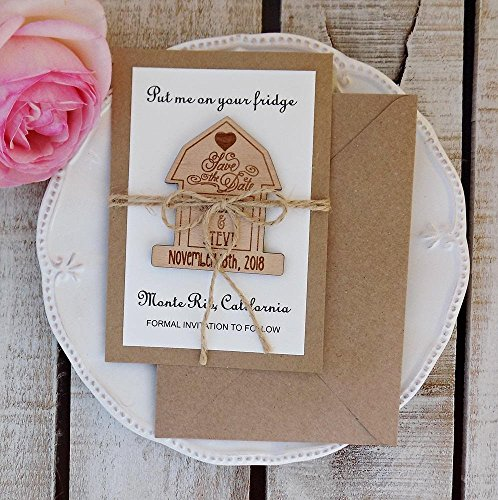 Barn Save the Date Magnet Barn Wooden Magnet Save The Date Rustic Save the Date Quinceanera Invite Barn Wedding Invite Farm Wedding Invite
