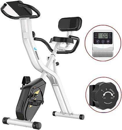 Bicicleta de Ejercicios Pliegue Gimnasio Ciclo de 110 kg con Carga de Peso Bicicleta de Spinning Interior del Ejercicio en Bicicleta Ciclo de Cardio for Hacer Ejercicio: Amazon.es: Hogar