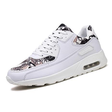 Zapatillas para Hombres/Mujeres 2018 Personalidad Moda Confort Correr Zapatos Deportivos Amantes Antideslizantes/Resistentes
