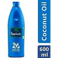 Parachute Coconut Oil Bottle, 600ml