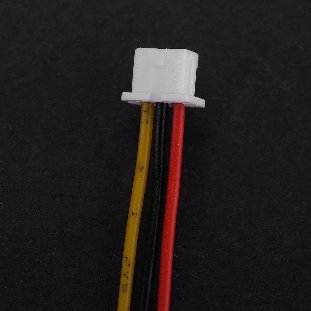 20 ensembles//paquet Micro JST 1.25MM Fiche m/âle et femelle /à 2 broches//3 broches avec c/âbles C/âbles petits composants /électroniques JST1.25 Connecteur JST 3P 3Pin