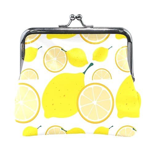 Amazon.com: Azul Viper amarillo limón cartera de piel mini ...