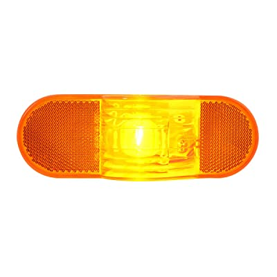 GG Grand General 80703 Amber Sealed Light (Oval Side Turn with Reflector): Automotive