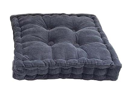 Amazon Com Black Temptation Square Seat Cushion Floor Pillow