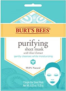 product image for Burt's Bees Purifying Sheet Mask With Kiwi Extract Mask, 0.33 Ounce
