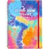 A4 If not now 2 days to a page slogan 2018/19 mid year diary