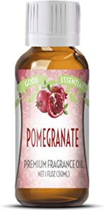 Pomegranate Scented Oil by Good Essential (Huge 1oz Bottle - Premium Grade Fragrance Oil) - Perfect for Aromatherapy, Soaps, Candles, Slime, Lotions, and More!