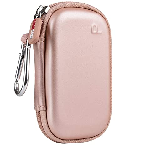 PAIYULE Case Compatible for JUUL, Fits Vape, Pods & Charger - Rose Gold  (CASE ONLY)