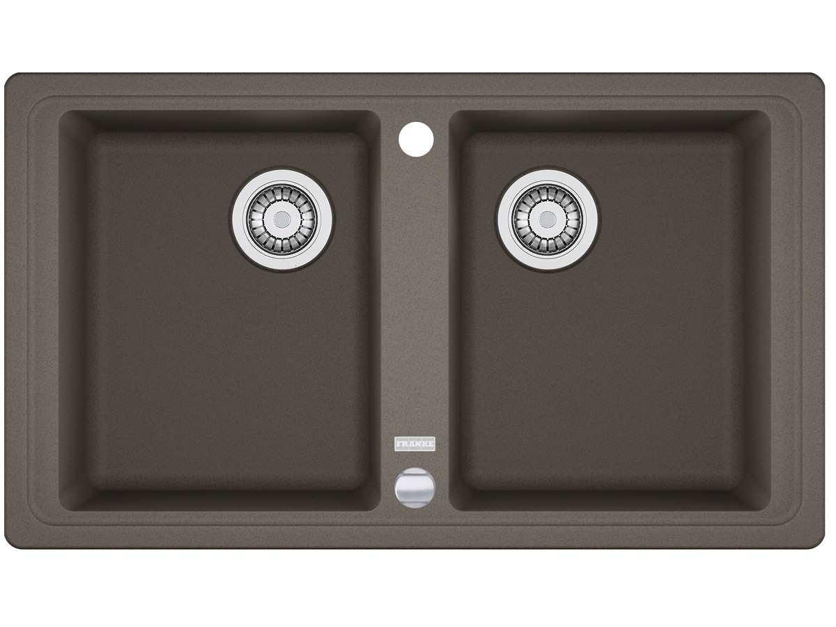 Franke Basis BFG 620 beige FRAGRANITE cucina lavandino doppio ...