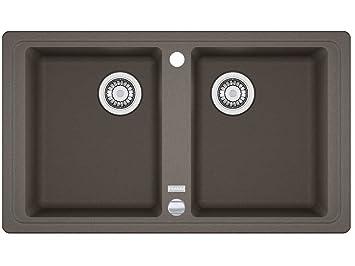 Franke Basis BFG 620 Umbra FRAGRANITE grigio lavandino da cucina ...