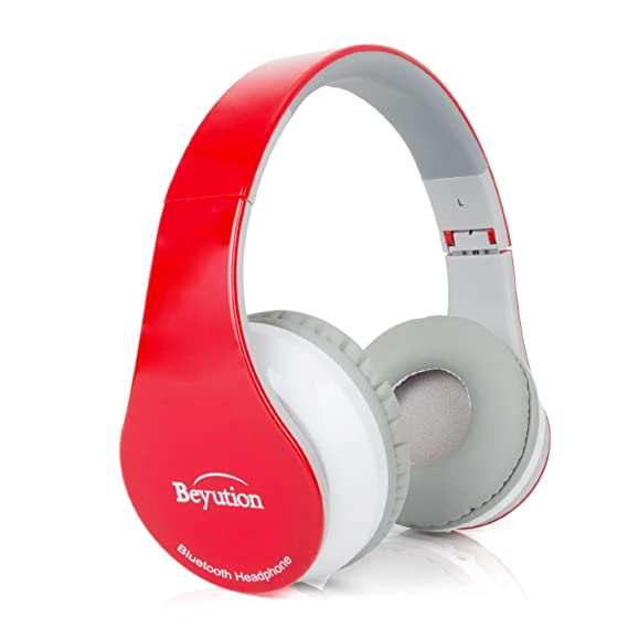 3f0b995dbb8 Image Unavailable. Image not available for. Color: Beyution Wireless Built in  Mic Bluetooth Headphone ...