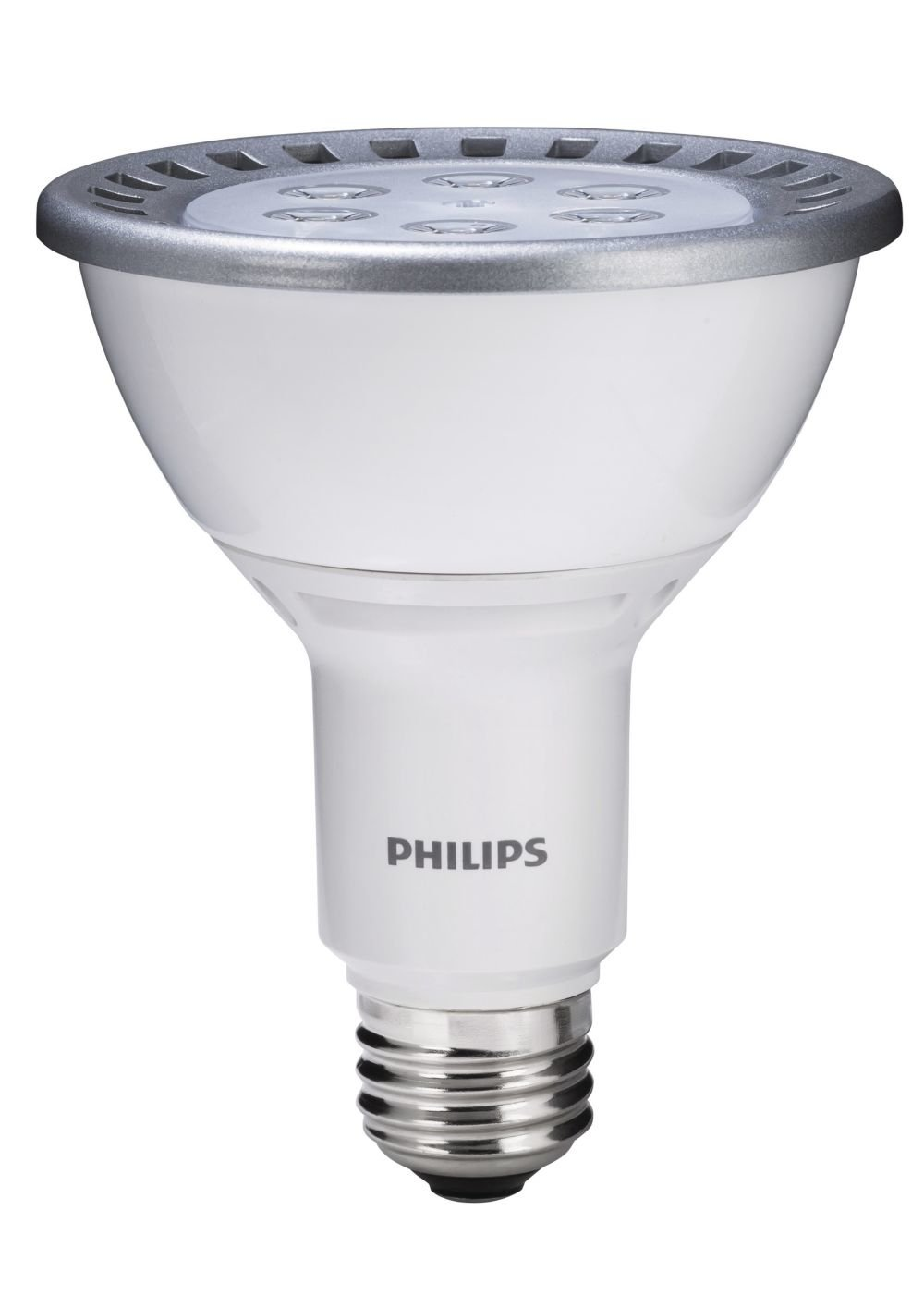Philips 420315 13-Watt (75-Watt) PAR30L LED 3000K Indoor Flood Light ...