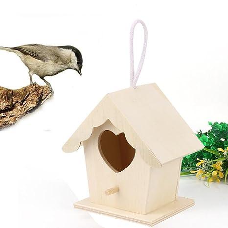 Strir Casita Para Pájaros Para Pequeños Pájaros Como