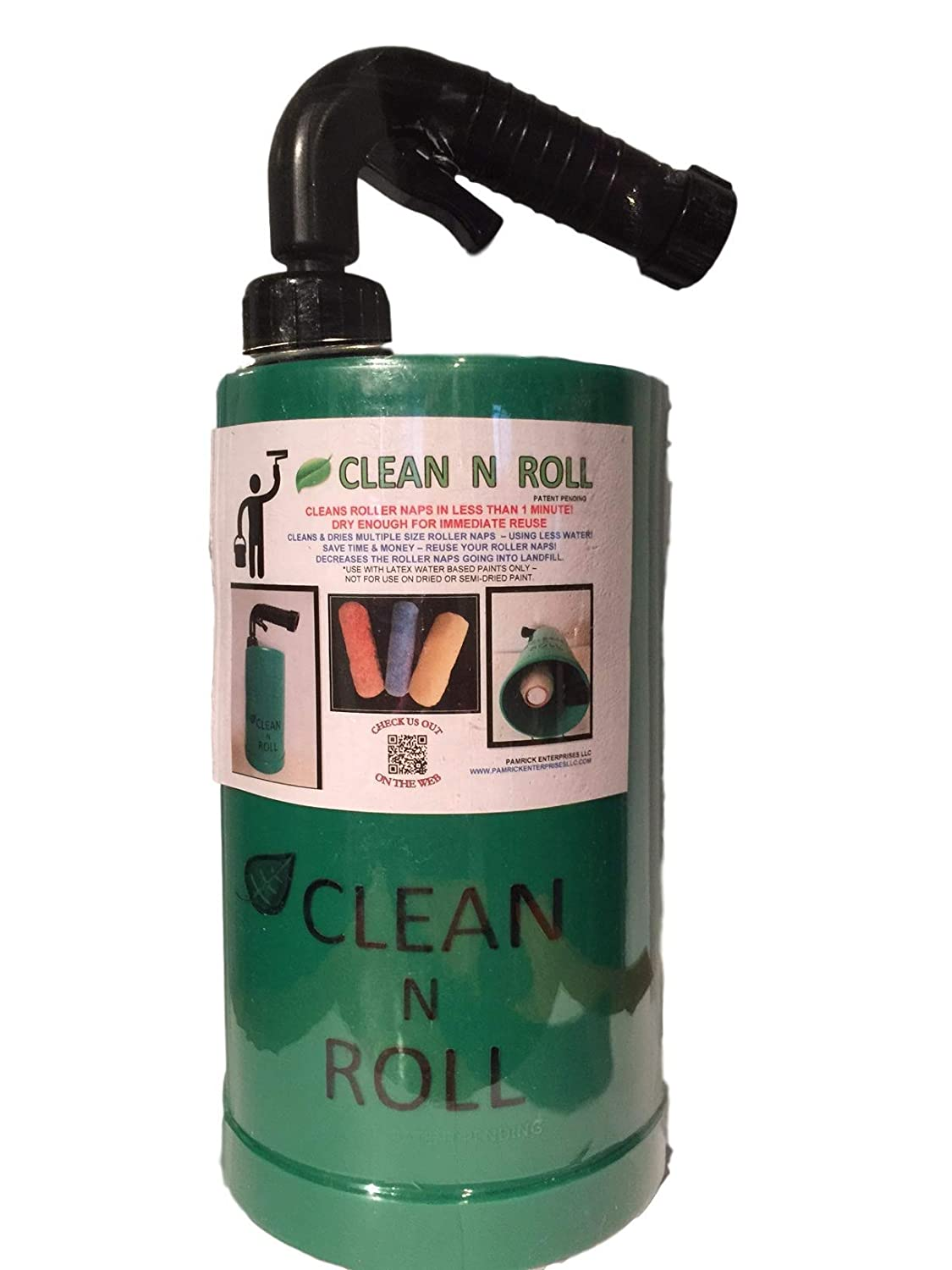 Clean N Roll Paint Roller Cleaner   Professional Grade Rolling Nap Cleaning Tool   Cleans Roller Skins In Less Than A Minute